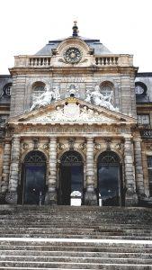 Wedding Locations Paris Château de Vaux-le-Vicomte front entrance