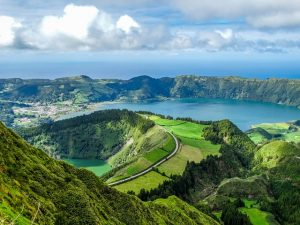Destination Wedding Locations Azores hills