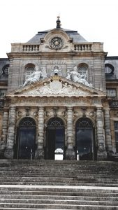 Destination Wedding Locations Chateau Vaux le Vicomte front gates