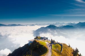 Destination Wedding Locations Switzerland clouds