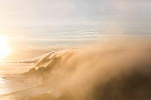 Destination Wedding Locations fog