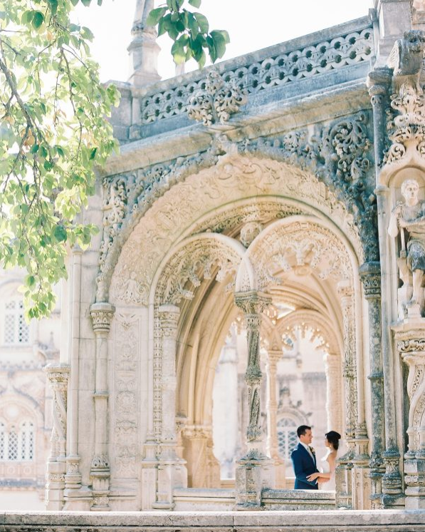 Palace of Bussaco in Portugal