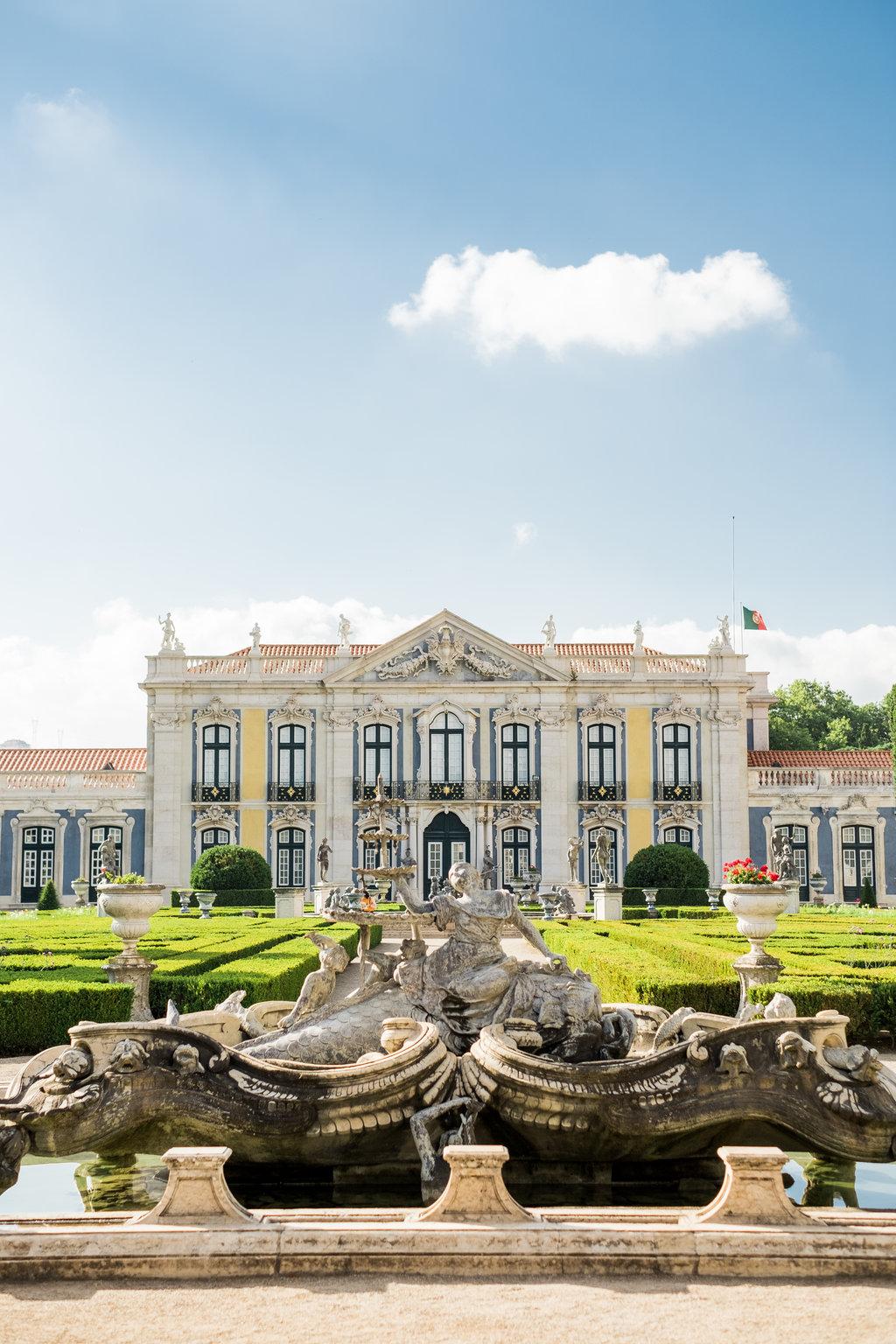 Queluz Palace in Sintra