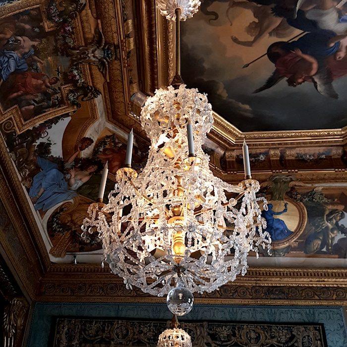 Wedding Locations in Paris Château de Vaux-le-Vicomte crystal chandeliers