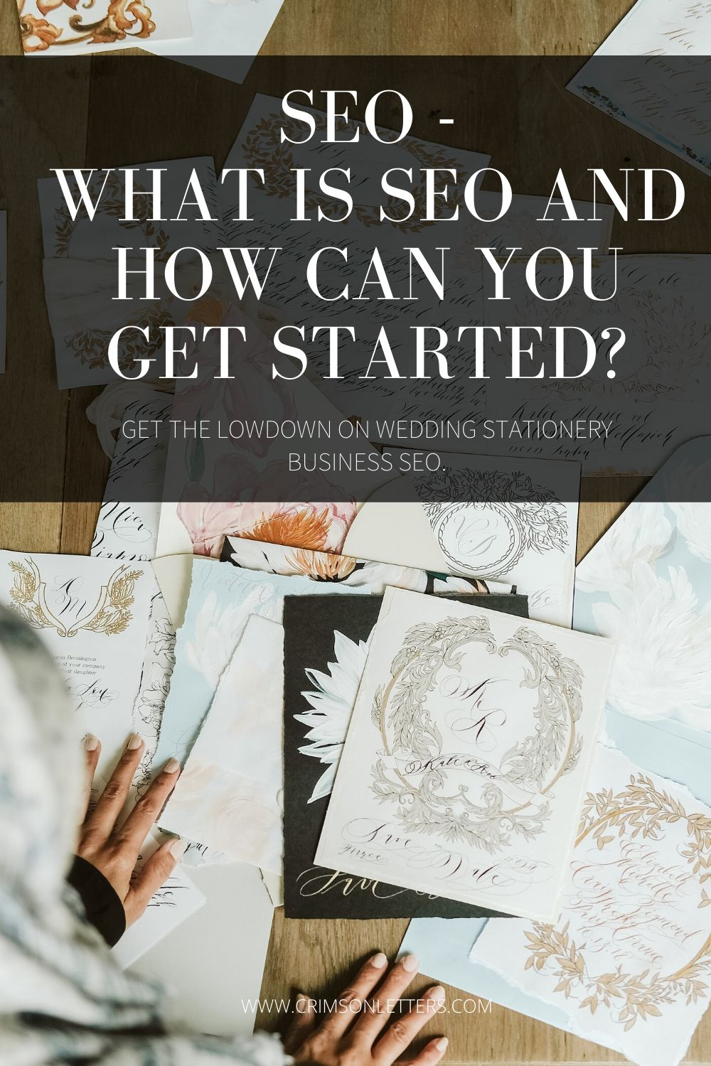 How to do SEO for wedding invitation business