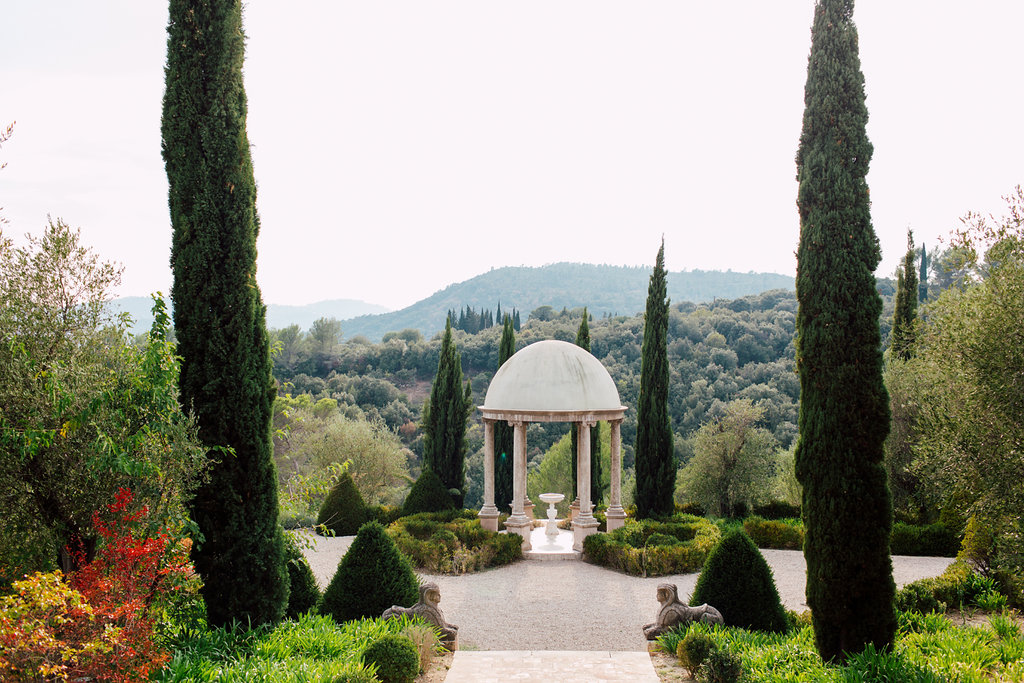 French Wedding Inspiration gardens