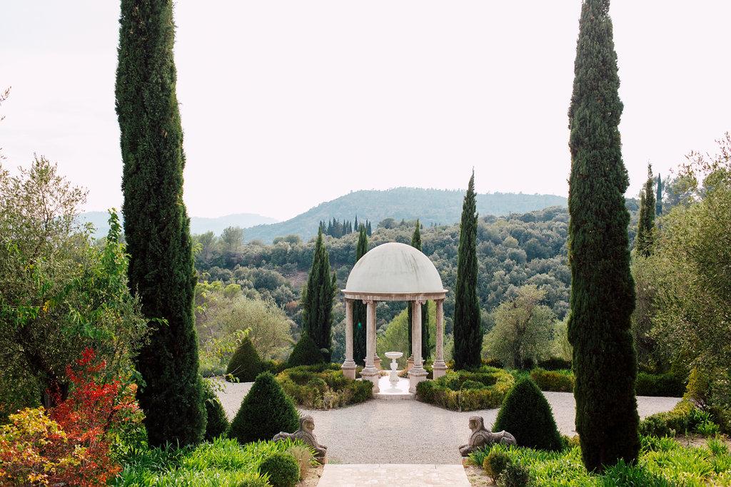 French Wedding Inspiration gardens