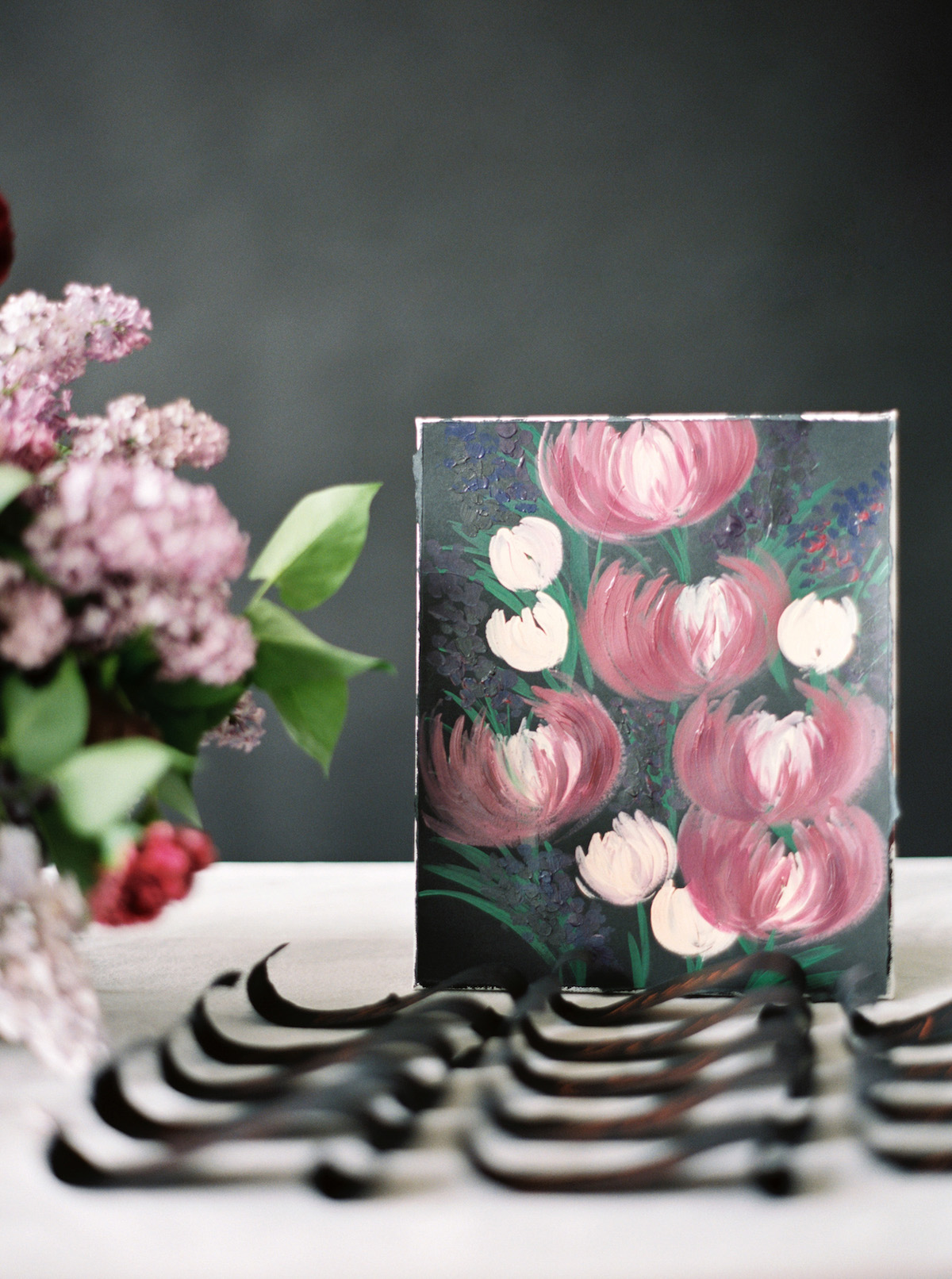 Latest Wedding invitation trends for 2019 painting for escort card table
