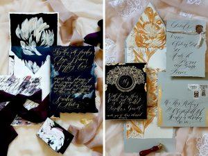 Latest Wedding invitation trends for 2019 custom made envelopes