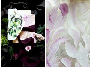 Latest Wedding invitation trends for 2019 silk wrap