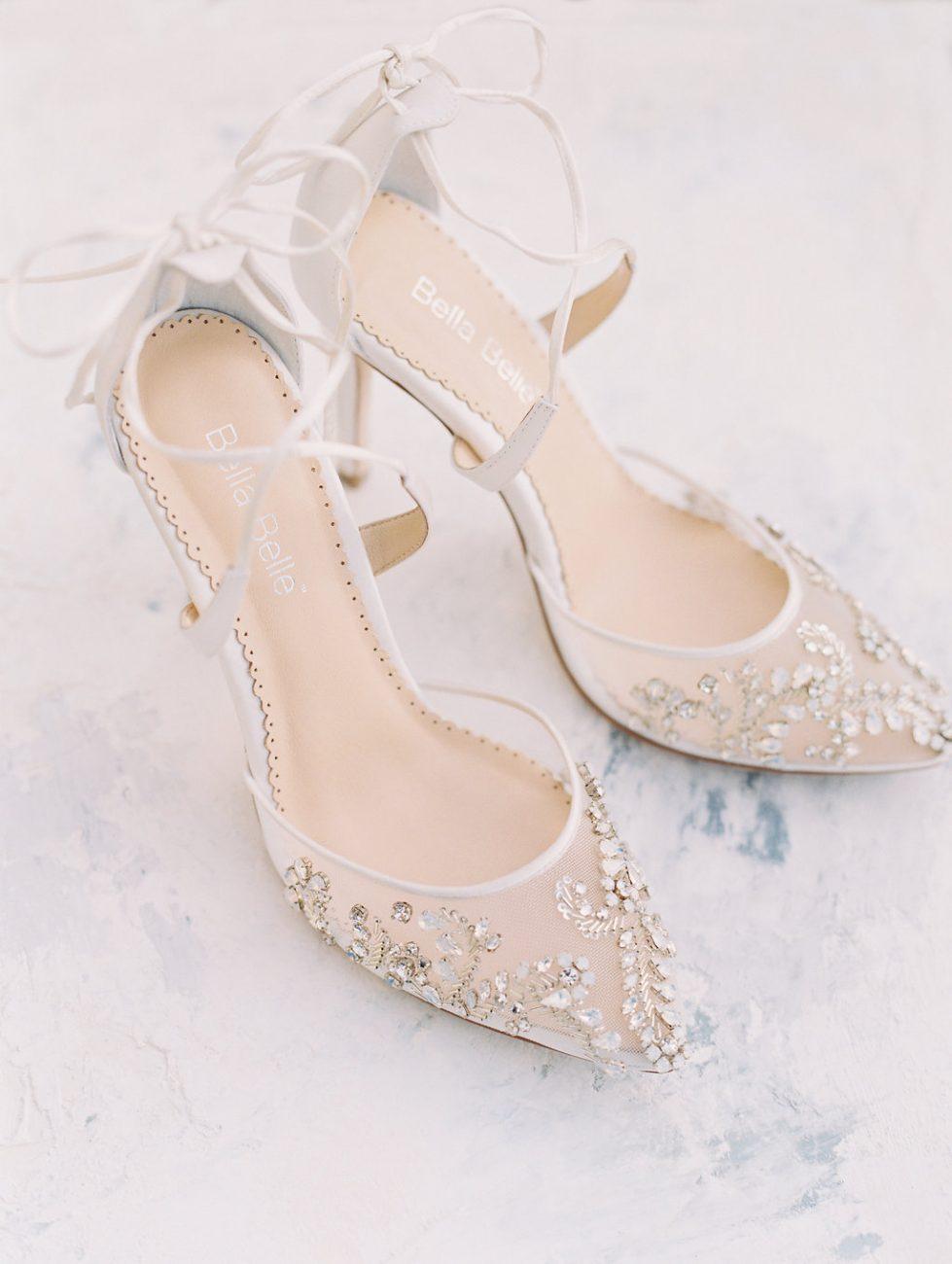 Orange Country wedding inspiration shoes