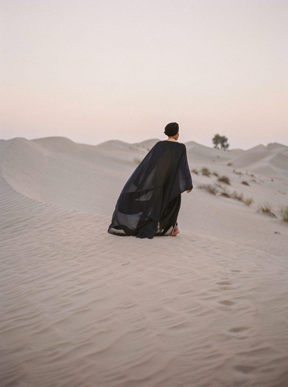 Desert fine art wedding inspiration