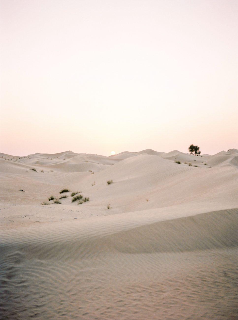 Desert fine art wedding inspiration sand dunes
