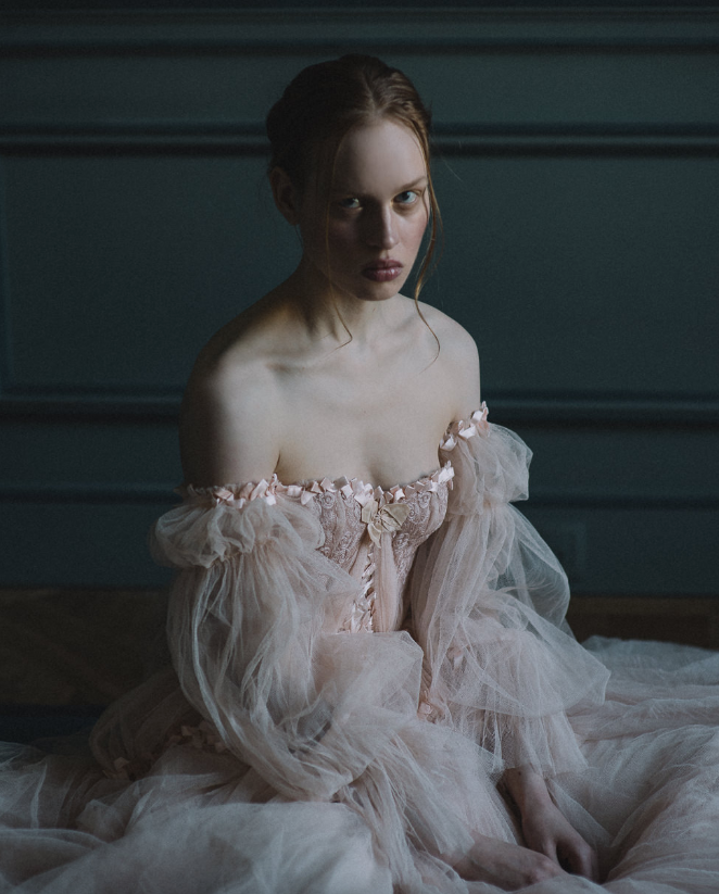Acrylic Painting - Joanne flemming dress