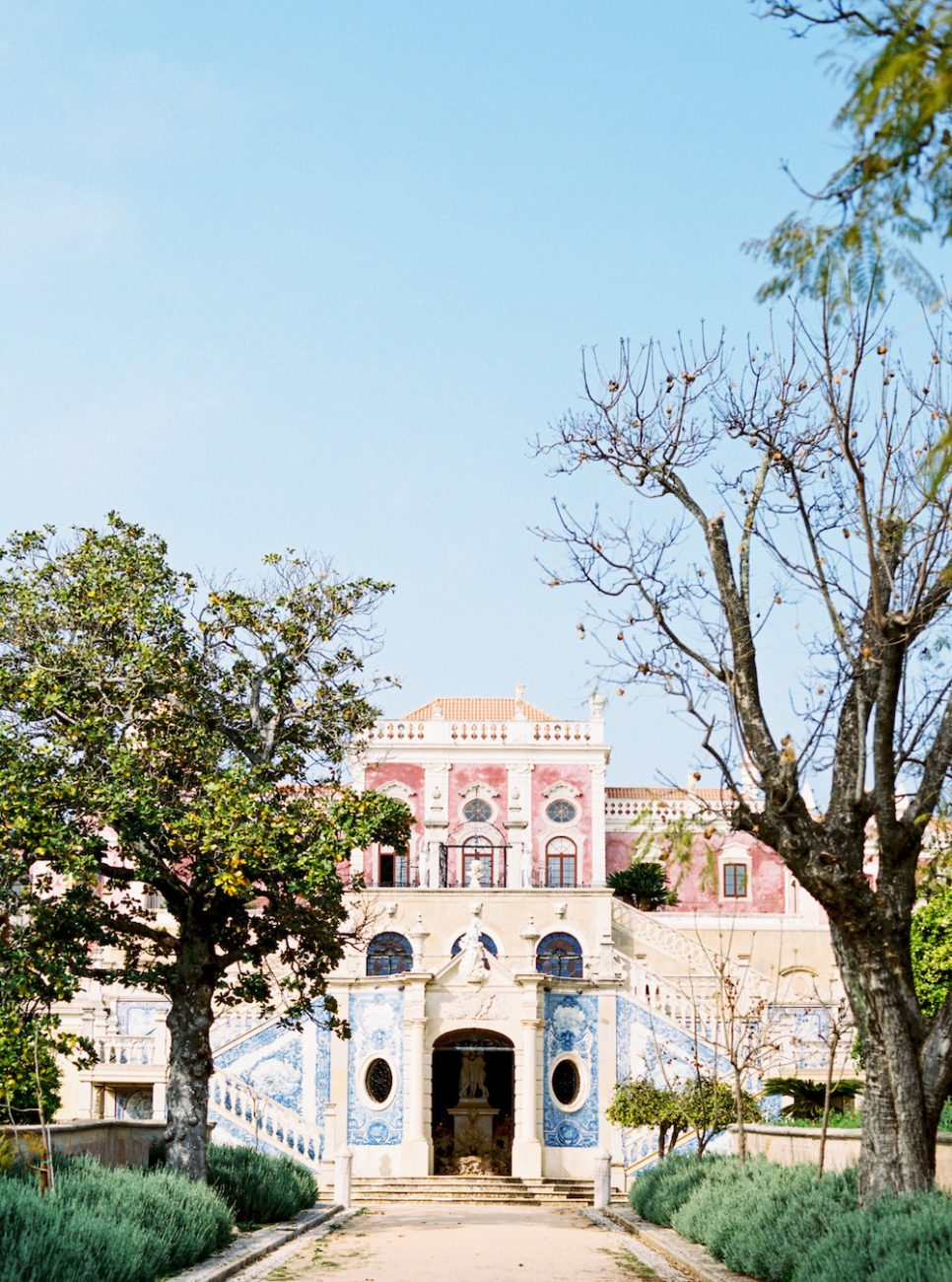 Palace Wedding Inspiration Estoi Palace facade copy