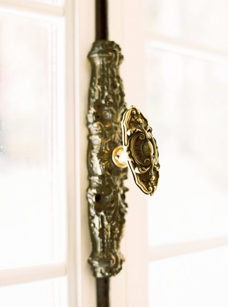 Palace Wedding Inspiration - antique door knob
