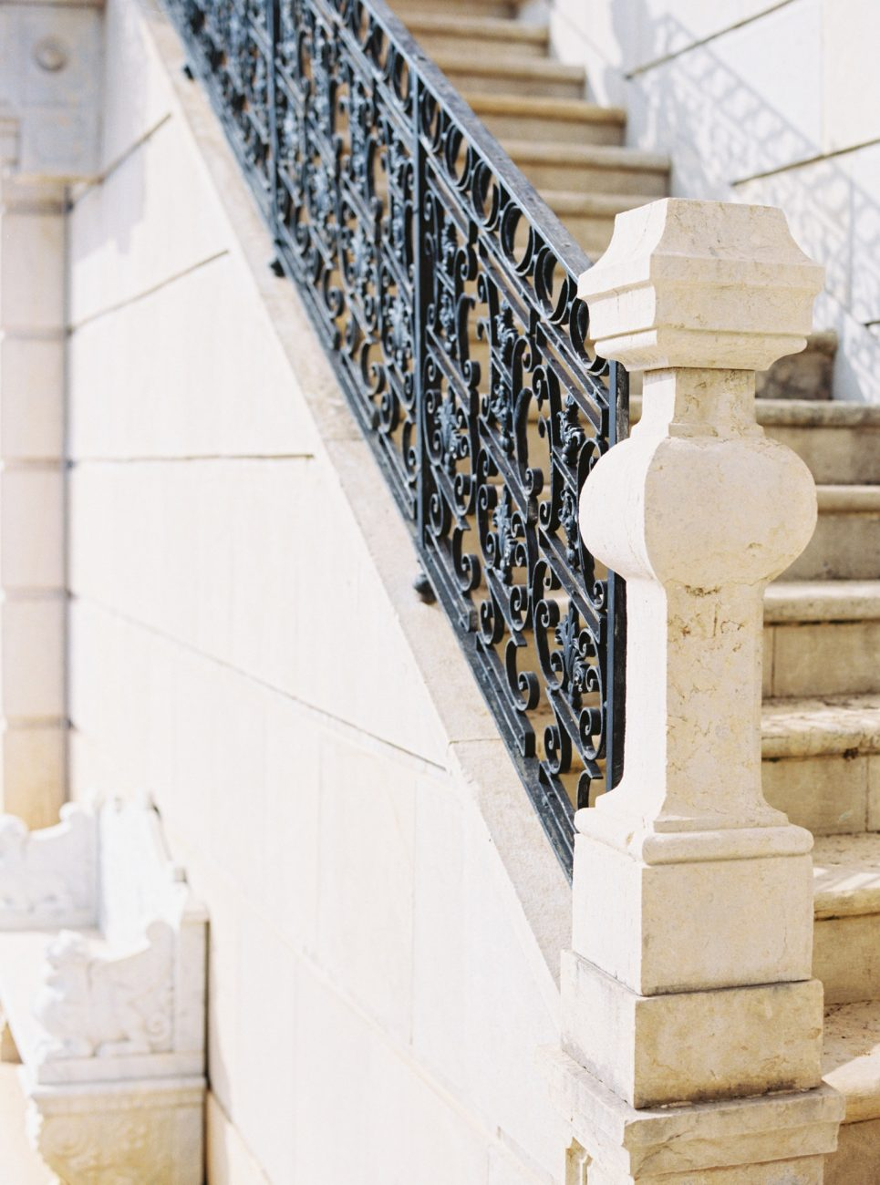 Portuguese palace's stairs