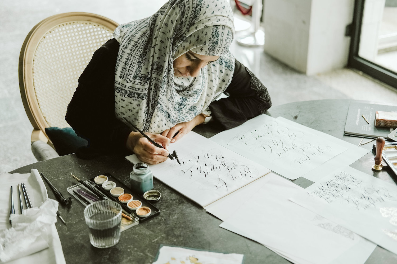 Wedding stationery designer Rubana Gaspar - the designer behind Crimson Letters