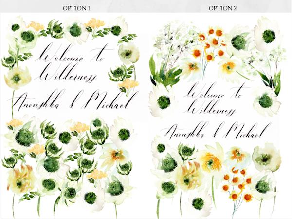Bespoke wedding stationery Welcome booklet