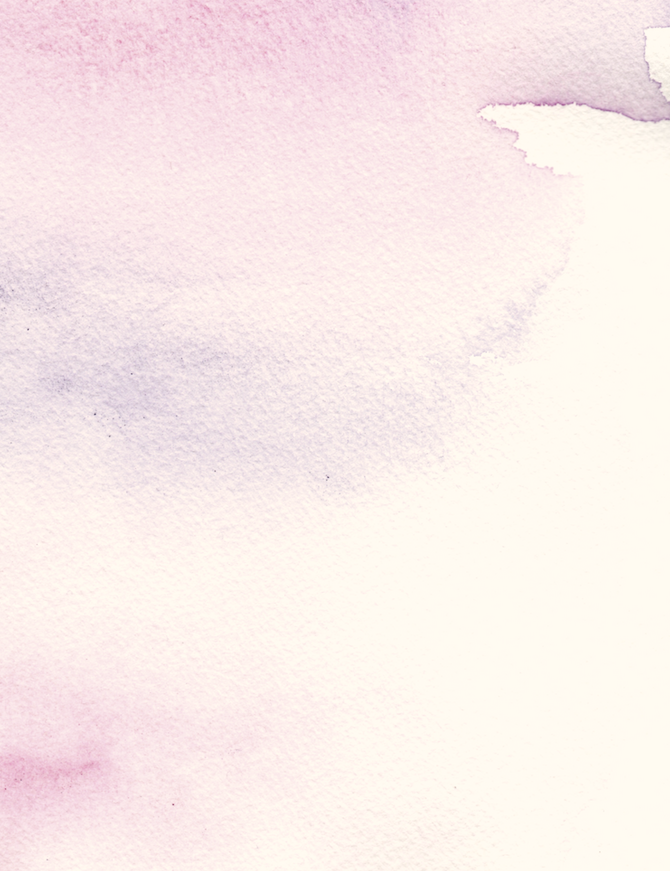 Bespoke watercolour background in a pale pink colour