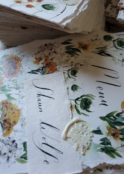 This blogpost is a helpful guide to why you should select custom watercolour wedding invitations for your wedding or special event