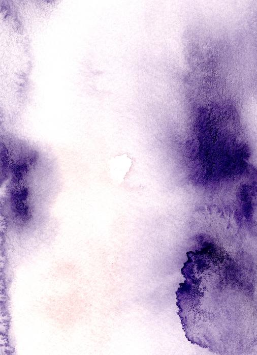 Watercolour background with more dark purple