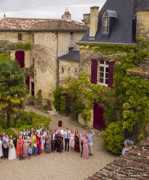 Intimate French wedding venue