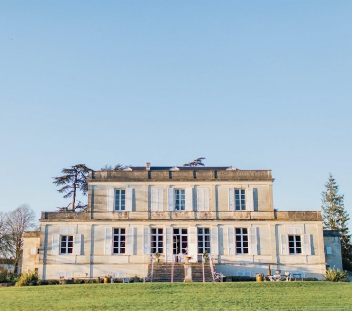 Small venues in France showing a private chateau