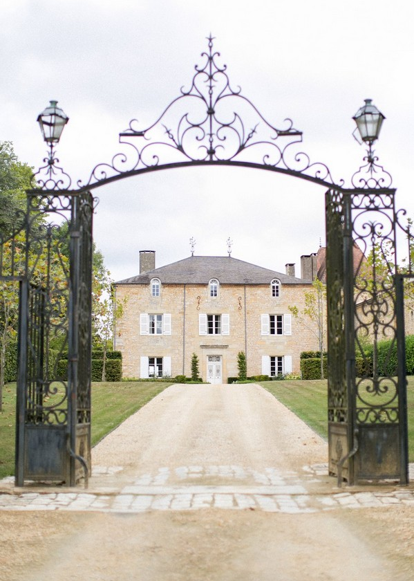 The Chateau De Redon as a small French venue for events