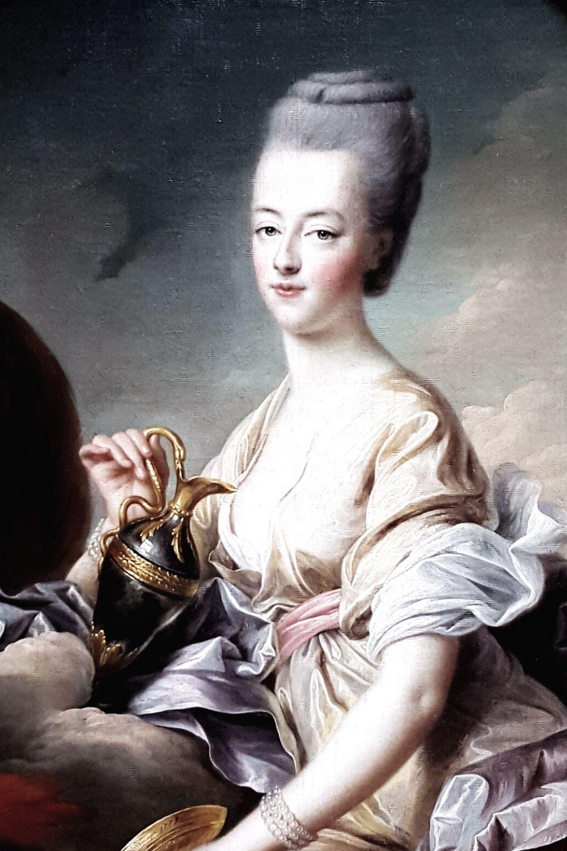 Marie Antoinette classical oil painting
