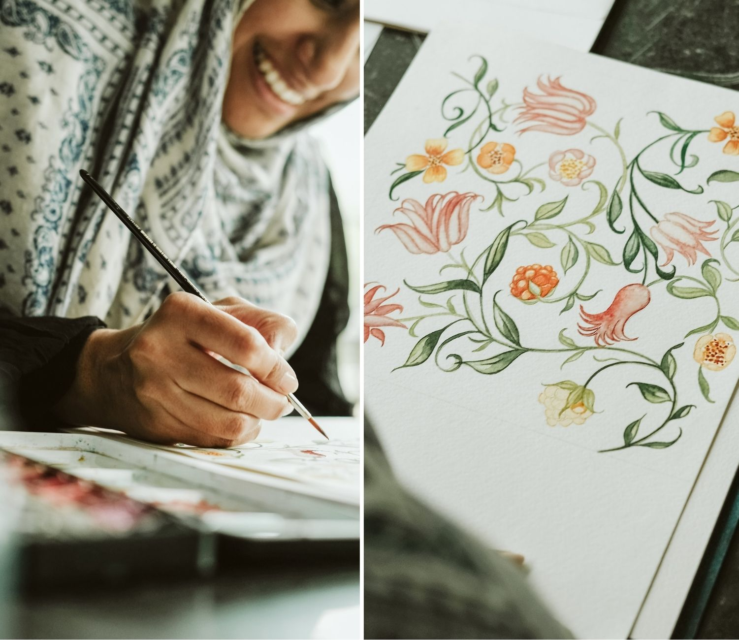 Consistency is key to business success as a wedding invitation designer and custom illustrator