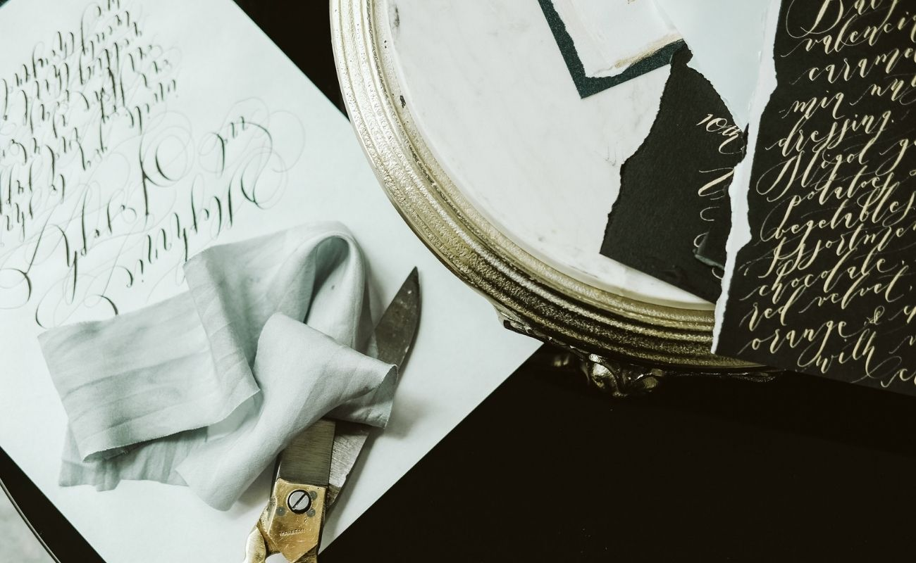 Here are some business tips as a calligrapher, artist and stationery designer
